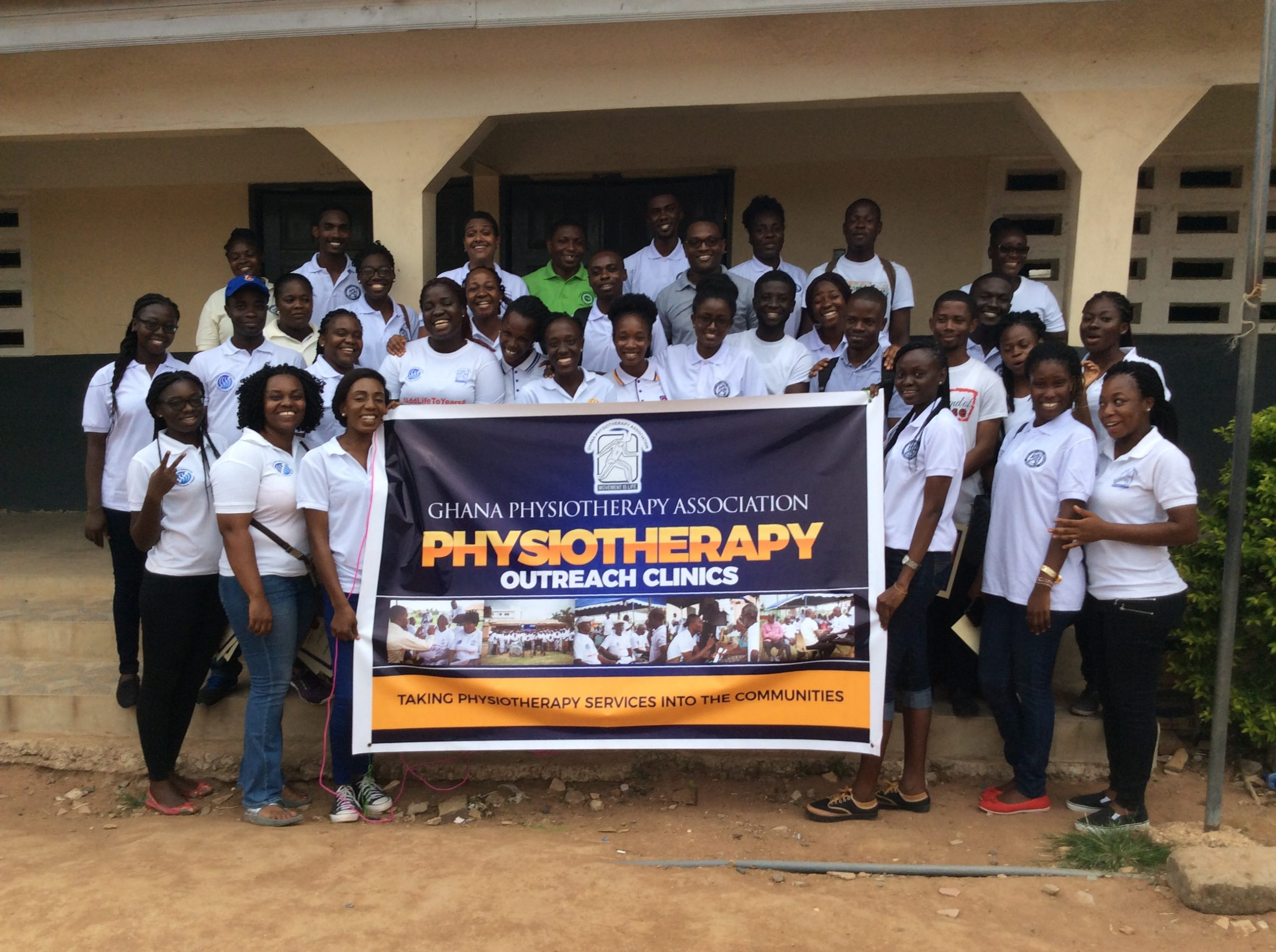 GHANA PHYSIOTHERAPY ASSOCIATION OUTREACH CLINIC HELD AT OTINIBI — 22nd July, 2017