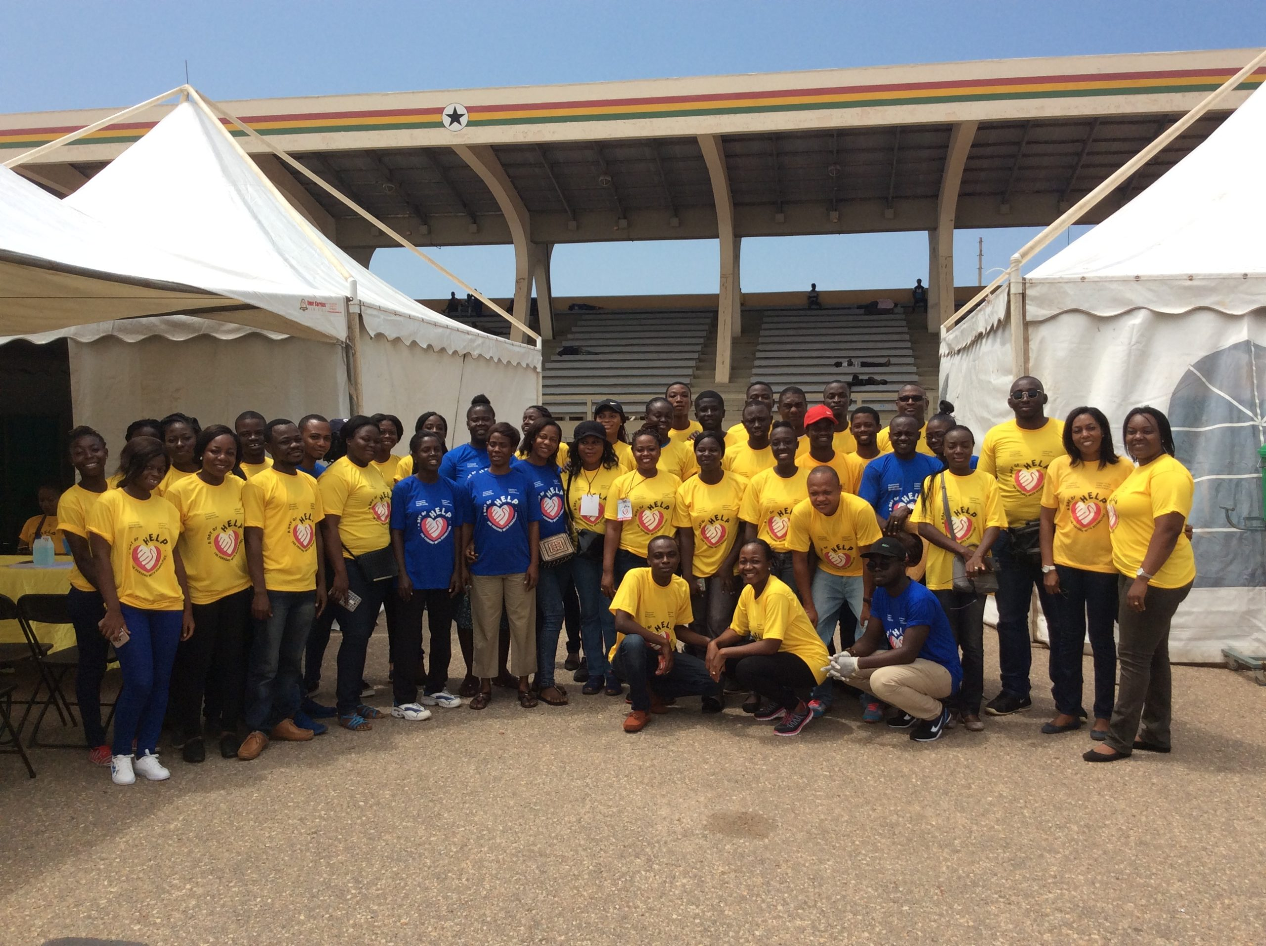 GHANA PHYSIOTHERAPY ASSOCIATION AT CEM / LIGHTHOUSE CHAPEL DAY OF HELP — 8th September, 2017
